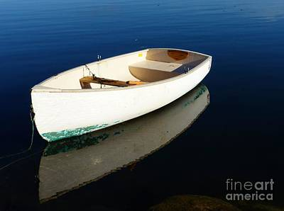 Photograph - Dingy Reflection by Christine Stack
