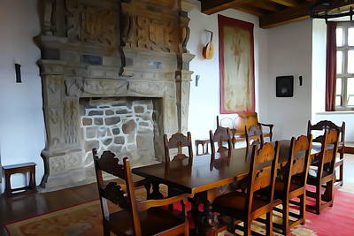 Photograph - Dining At Donegal Castle by Charlie Brock