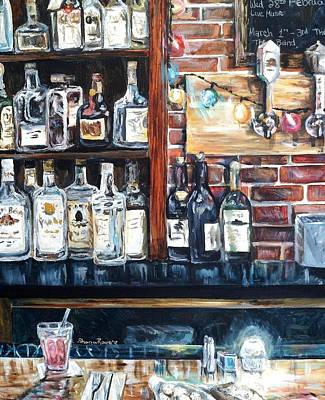 Painting - Dining At The Bar by Shana Rowe Jackson