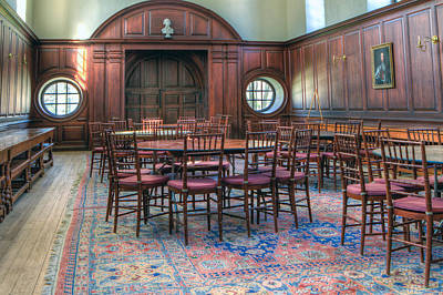 Photograph - Dining Hall Wren Building by Jerry Gammon