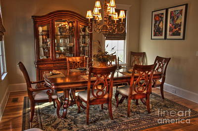 Photograph - Dining Room by Jonathan Harper