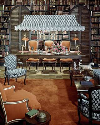 Dine Photograph - Dining Room Which Doubles As A Study by Wiliam Grigsby