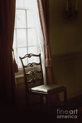 Dining Room Window Print by Margie Hurwich