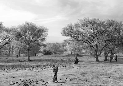 Dinka Photograph - Dinka In South Sudan.  by Jadwiga Figula
