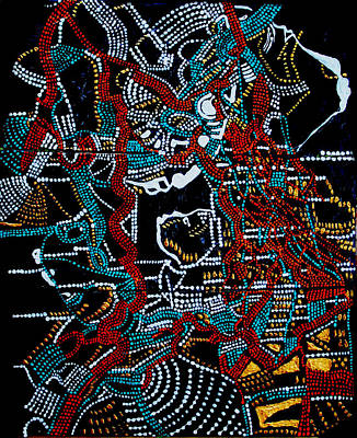 Dinka - South Sudan Art Print by Gloria Ssali