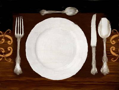 Digital Art - Dinner For One by Lourry Legarde