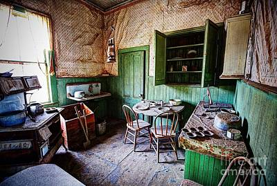Bodie Photograph - Dinner For Two by Andrew Brooks
