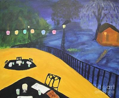 Dinner On The Bayou Art Print