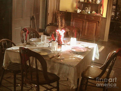 Photograph - Dinner Party by Cristophers Dream Artistry