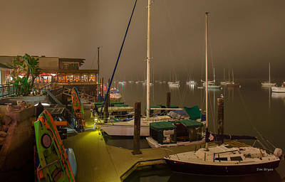 Photograph - Dinner Time In Morro Bay by Tim Bryan