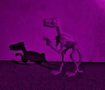 Nirvana - Dino Dark Purple... Barney by Rob Hans