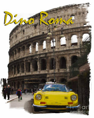 Photograph - Dino Roma by Tom Griffithe