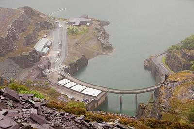 Grid Photograph - Dinorwig Power Station In Llanberis by Ashley Cooper