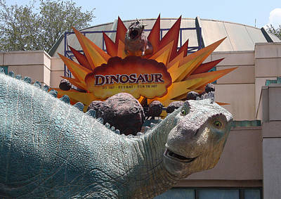 Photograph - Dinosaur by David Nicholls