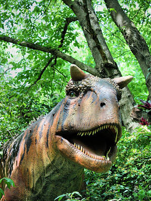 Photograph - Dinosaur by Kristin Elmquist