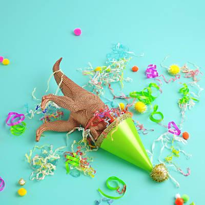 Photograph - Dinosaur Party Hat by Juj Winn