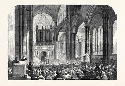 Parish Drawing - Diocesan Meeting Of Parish Choirs At Salisbury Cathedral by English School