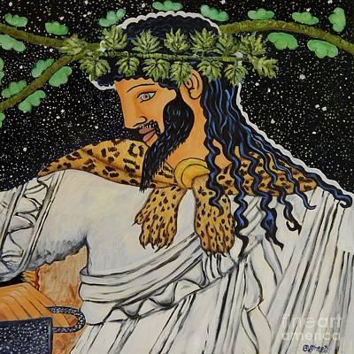 Dionysus  Art Print by Caroline Street