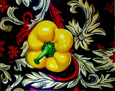 Painting - Dior's Pepper by Shelley Laffal