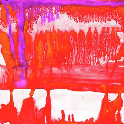 Dip Painting - Dip Dye Tangelo by Amy Sia