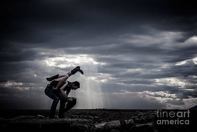Photograph - Dipped Kick In A Storm by Scott Sawyer