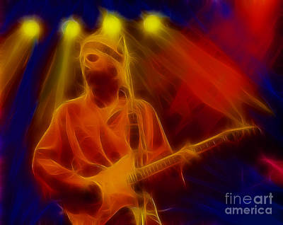 Dire Straits-4-fractal Art Print by Gary Gingrich Galleries