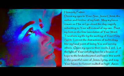 Digital Art - Direct My Eyes by Christine Nichols