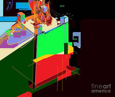 Holy Alphabet Digital Art - Directions 2 by David Baruch Wolk