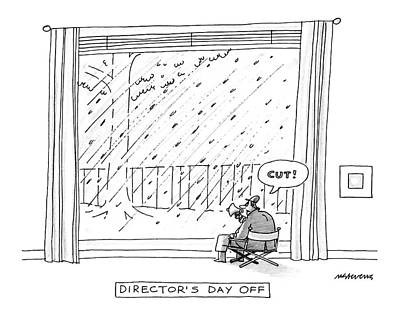 Director's Day Art Print by Mick Stevens