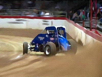 Mixed Media - Dirt Trackin' by Dennis Buckman
