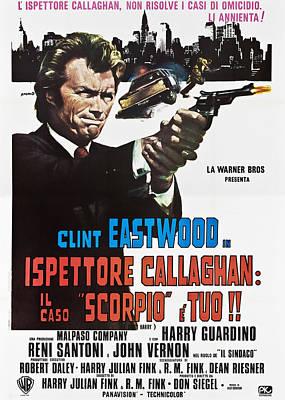 Dirty Harry Aka Ispettore Callaghan Il Art Print by Everett
