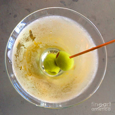 Photograph - Dirty Martini  by Shari Warren
