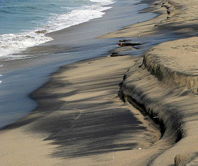 Photograph - Dirty Sand by Jeff Lowe