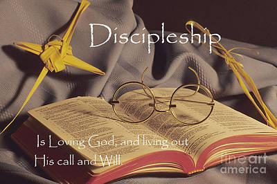 Discipleship Art Print