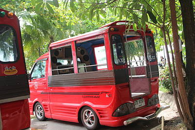 Ampland.com Photograph - Disco Taxi by Areg Badalian