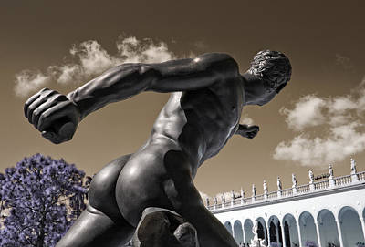 Olympian Photograph - Discobolus by Mal Bray