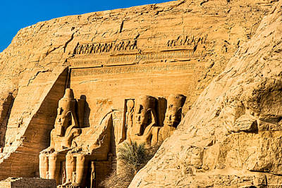 Photograph - Discovering The Nubian Monuments Of Ramses II by Mark E Tisdale