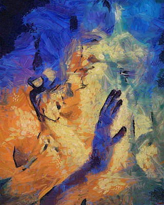 Self Discovery Painting - Discovering Yourself by Joe Misrasi