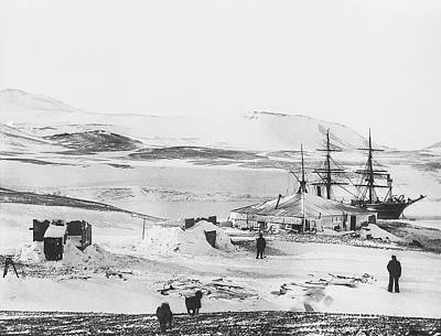 Historic Site Photograph - Discovery Antarctic Expedition by Scott Polar Research Institute