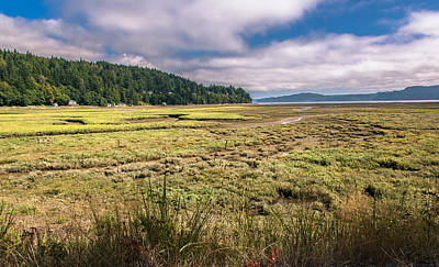 Photograph - Discovery Bay Afternoon- Washington State by Tim Bryan
