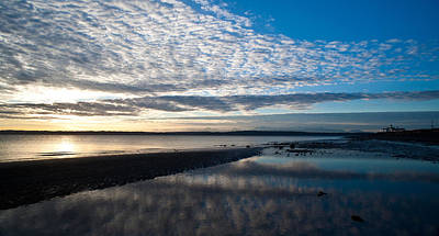 Discovery Park Evening Art Print by Mike Reid
