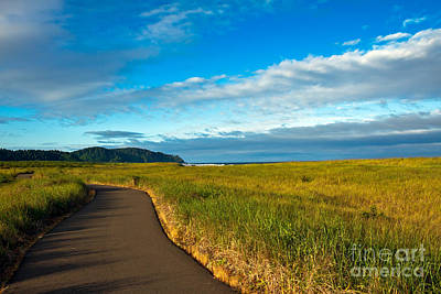 Seacape Photograph - Discovery Trail by Robert Bales