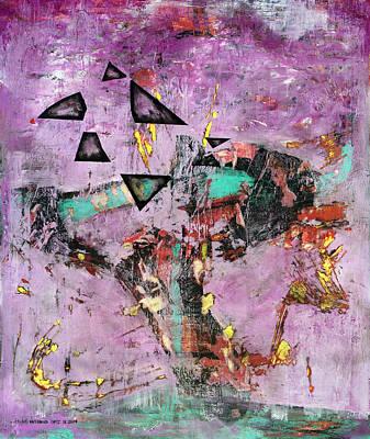 Baselitz Painting - Disfunction by Antonio Ortiz