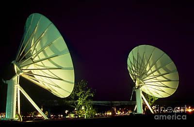 Dish Antennas Art Print