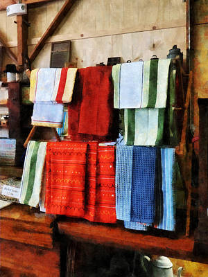 Photograph - Dish Cloths For Sale by Susan Savad
