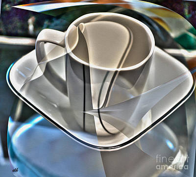 Photograph - Dishes Abstract by Crystal Harman