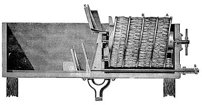 Dishwashing Machine Art Print by Science Photo Library