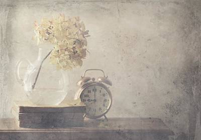 Texture Photograph - Disillusionment Of Nine Oa??clock by Delphine Devos