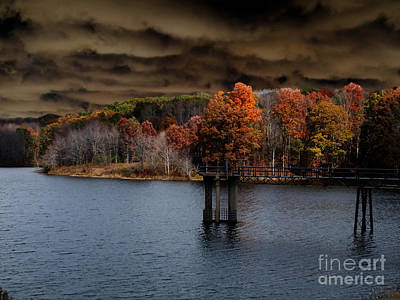 Photograph - Dismal Lake by Melissa Lightner