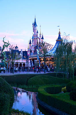 Photograph - Disney At Dusk by Catherine Murton